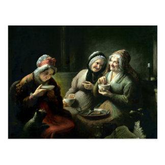Les trois bavardages cartes postales