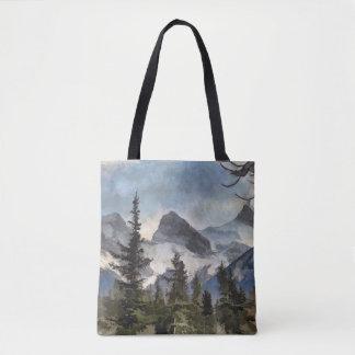 Les trois soeurs - montagnes rocheuses canadiennes sac