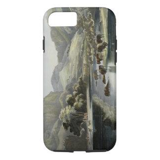 Les troupeaux de bison et d'élans sur le stimulant coque iPhone 7