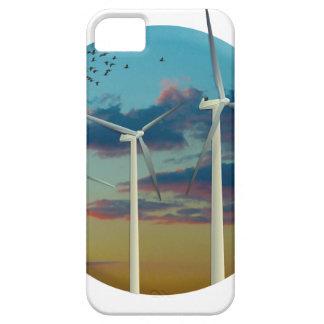 Les turbines de vent ont peint le ciel coques Case-Mate iPhone 5