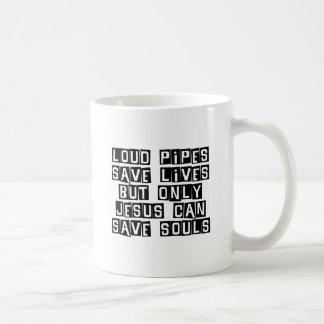 Les tuyaux bruyants Jésus économise Mug