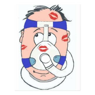 Les utilisateurs de CPAP font de meilleurs amants Cartes Postales