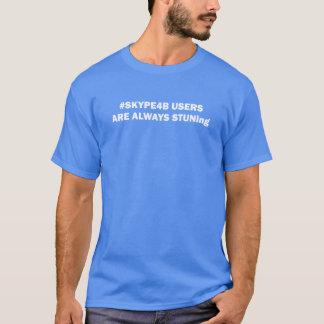 Les UTILISATEURS de #SKYPE4B SONT TOUJOURS T-shirt