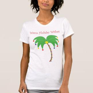 """""""Les vacances chaudes souhaitent"""" le dessus de rés T-shirts"""