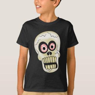 Les vacances de crâne de Halloween badinent le T-shirt