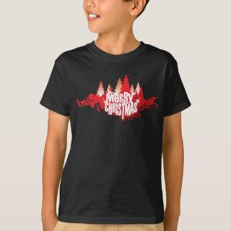 Les vacances de Joyeux Noël badinent le T-shirt