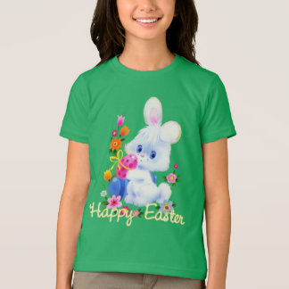 Les vacances de lapin de Pâques badinent le T-shirt