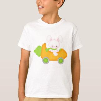Les vacances de lapin de Pâques de bande dessinée T-shirt