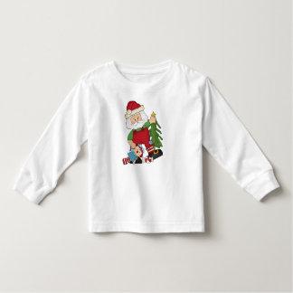 Les vacances de Père Noël de Noël badinent le T-shirt Pour Les Tous Petits