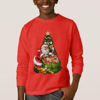 Les vacances de Père Noël de Noël badinent le T-shirts