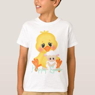 Les vacances de poussin de Pâques badinent le T-shirt