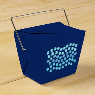 Les vagues bleues sortent le ballotin ballotins