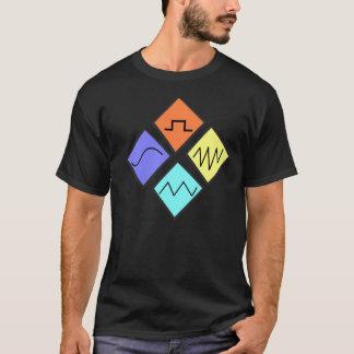 """Les """"vagues du bruit"""" est T-shirt conçu par edm"""