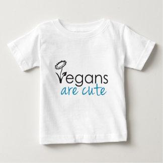 Les végétaliens sont mignons - les avocats t-shirt pour bébé