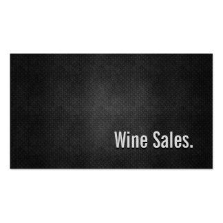 Les ventes de vin refroidissent la simplicité carte de visite standard
