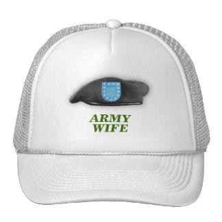les vétérans d instantané de béret d armée contrôl