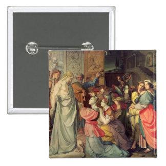 Les vierges sages et insensées badge carré 5 cm