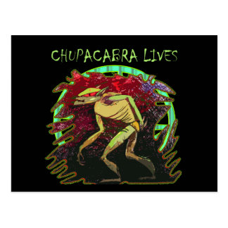Les vies de Chupacabra Cartes Postales