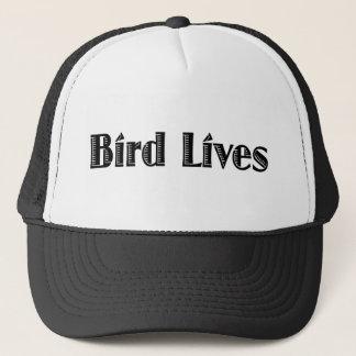 Les vies d'oiseau casquette