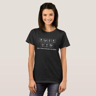Les vies noires des femmes - éléments chimiques t-shirt