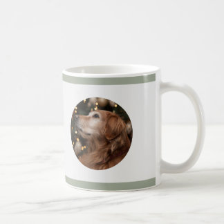 """Les """"vieux chiens ne sont pas"""" tasse de café grise"""