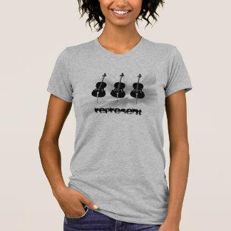 Les violoncellistes représentent ! t-shirt