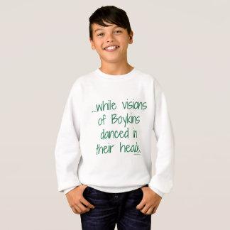 Les visions de l'enfant du sweatshirt de Boykins