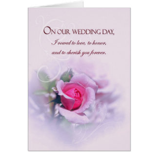 Les voeux de mariage sentimentaux d'anniversaire carte de vœux