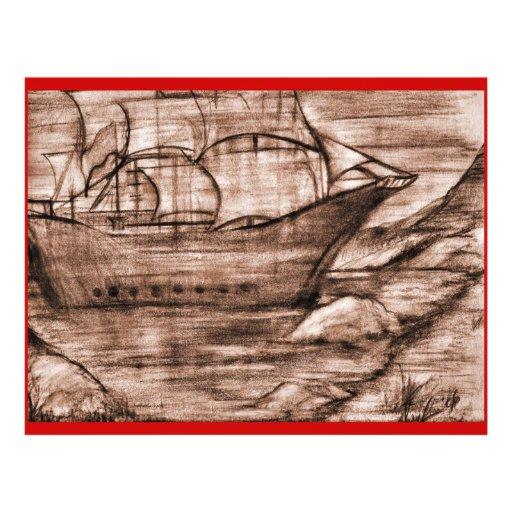 Les Voyages-Agedl de Paul Prospectus Personnalisés