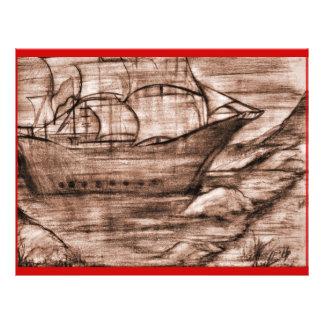 Les Voyages-Agedl de Paul Prospectus 21,6 Cm X 24,94 Cm