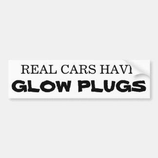 Les vraies voitures ont des PRISES de LUEUR Adhésifs Pour Voiture