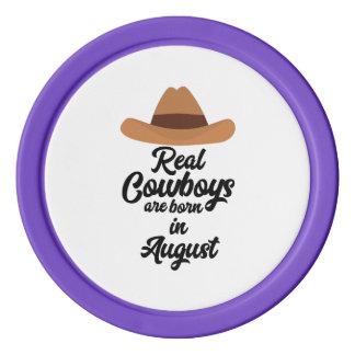 Les vrais cowboys sont fève en août Zajra Jetons De Poker