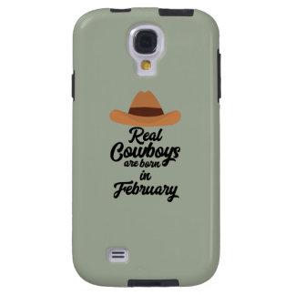 Les vrais cowboys sont la fève en février Zi955 Coque Galaxy S4