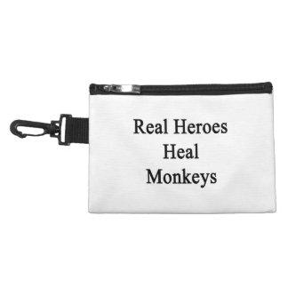 Les vrais héros guérissent des singes trousses à accessoires