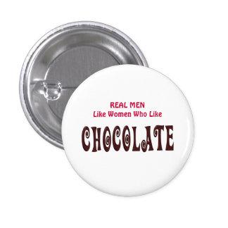 Les vrais hommes drôles aiment les femmes qui comm badge rond 2,50 cm