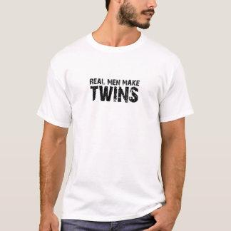 Les vrais hommes font… Cadeau frais de fête des T-shirt