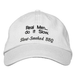 Les vrais hommes font il casquette lent de BBQ