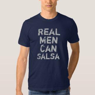 Les vrais hommes mettent en boîte le Salsa T-shirts