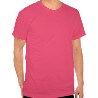 Les vrais hommes sont rose étrange et d'usage t-shirt