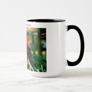 Les yeux de border collie mug