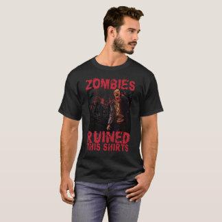 Les zombis ont ruiné ce T-shirt drôle de Halloween