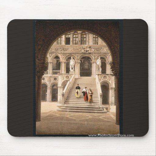 L'escalier du géant, classi de Venise, Italie Tapis De Souris