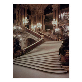L'escalier grand du l'Opéra-Garnier Cartes Postales