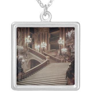 L'escalier grand du l'Opéra-Garnier Pendentif Carré