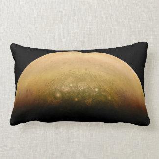 L'espace amortit Jupiter ensoleillé Coussin Rectangle