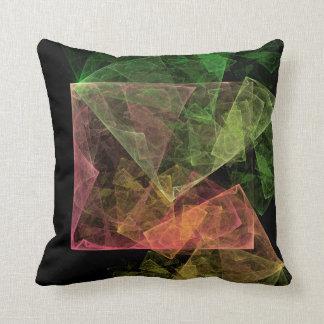 L'espace cubique d'art abstrait oreillers