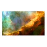 L'espace de Hubble de nébuleuse d'Omega/cygne Modèles De Cartes De Visite