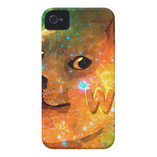 l'espace - doge - shibe - wouah doge coque Case-Mate iPhone 4