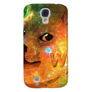 l'espace - doge - shibe - wouah doge coque galaxy s4