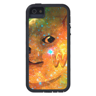 l'espace - doge - shibe - wouah doge coque iPhone 5 Case-Mate